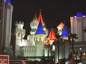 The extravagant styles of Vegas hotels and casinos is really stunning. Somebody's making some money in that town!