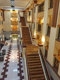 The interior of this hotel is absolutely gorgeous.