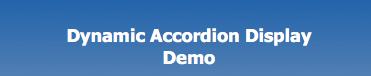 Dynamic Accordion Menus