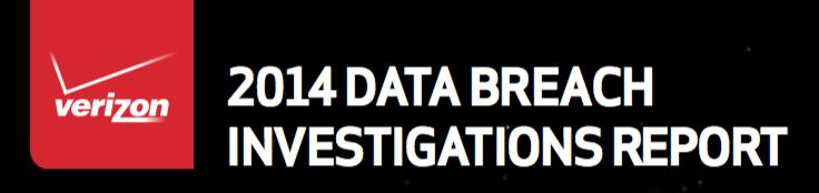 2014 Verizon Data Breach Investigations Report
